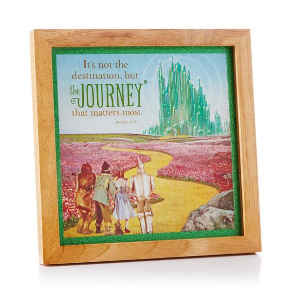 Hallmark The Wizard Of Oz Emerald City Large Frame Decorative