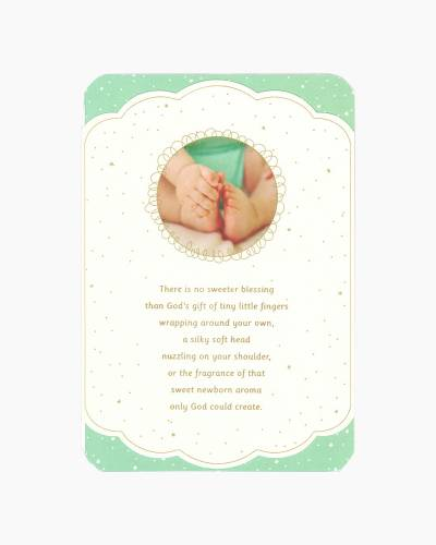 God's Gift New Baby Card