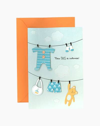 So Tiny, So Perfect New Baby Boy Card