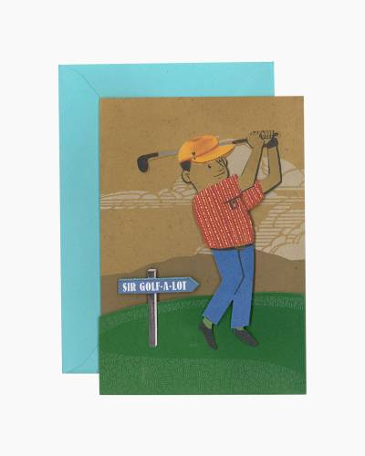Take a Mulligan Birthday Card