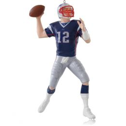 New England Patriots Tom Brady Hallmark Keepsake Ornament