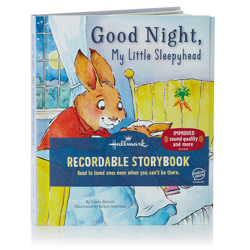 Cool Good Night My Little Sleepyhead Recordable Storybook Personalised Birthday Cards Petedlily Jamesorg
