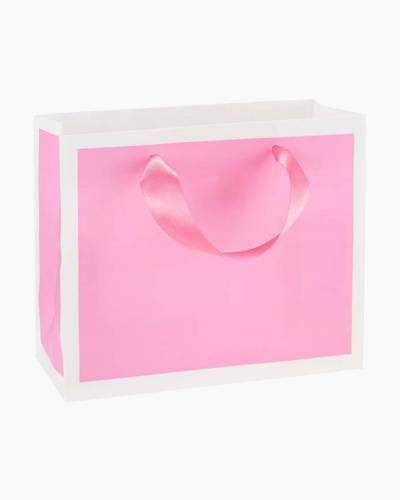 Bubble Gum Pink Small Gift Bag