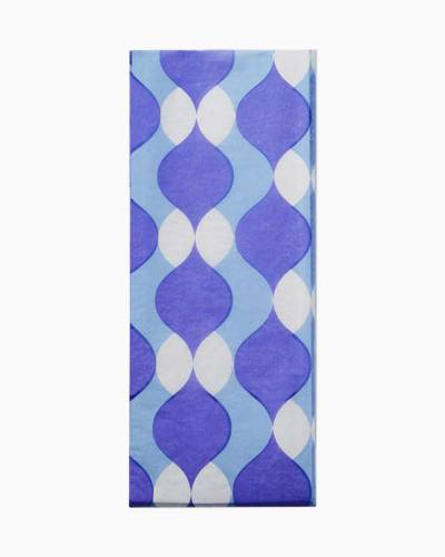 Purple Wave Tissue Paper