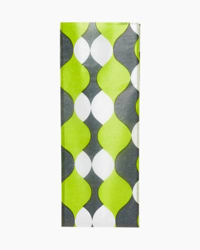 Chartreuse Wave Tissue Paper