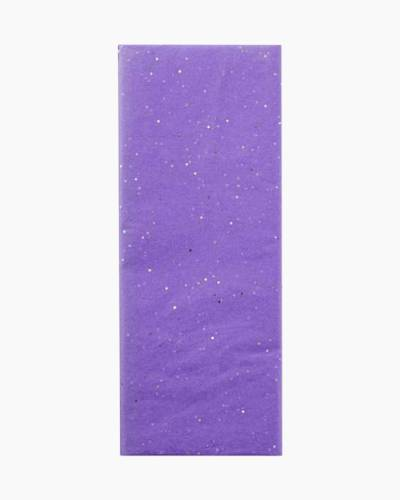 Lavender With Sparkles Tissue Paper