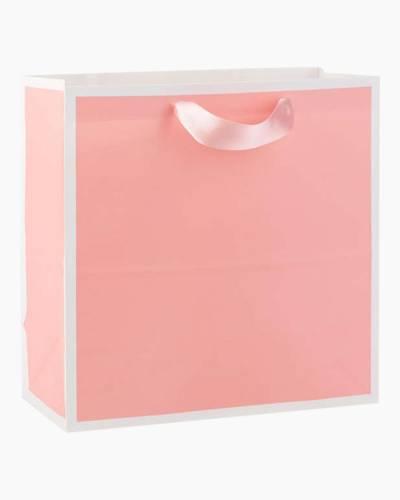 Shell Pink Large Square Bag