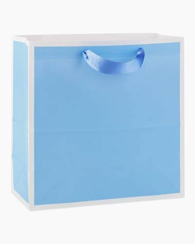 Periwinkle Large Square Gift Bag