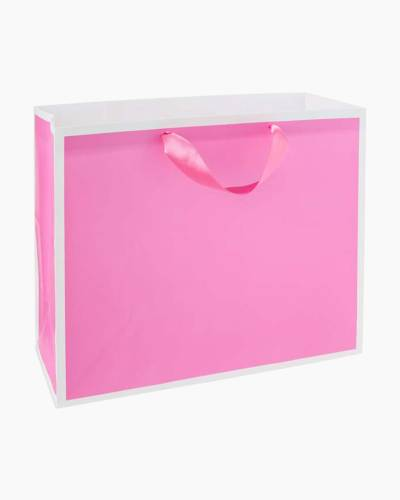 Bubble Gum Pink Large Gift Bag