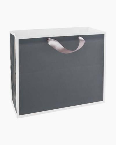 Steel Gray Large Gift Bag