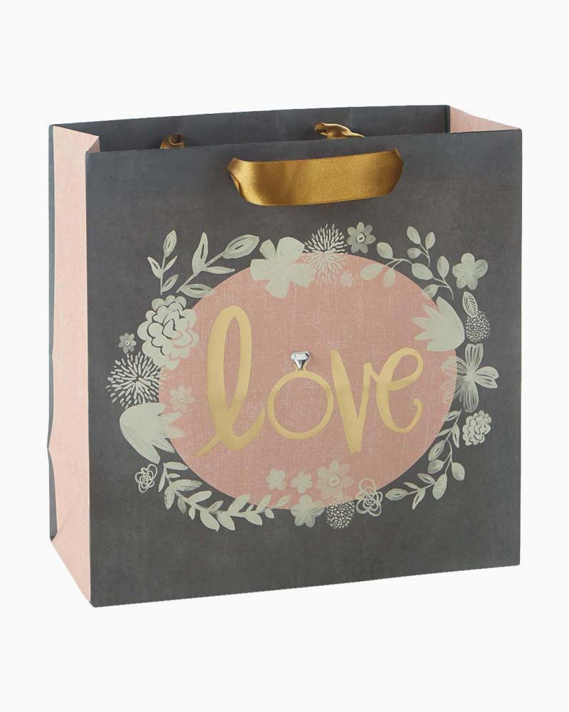 Hallmark Love Large Square Gift Bag