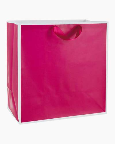Raspberry Extra-large Gift Bag