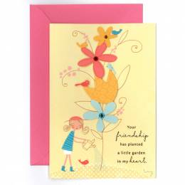 Hallmark Your Friendship Is a Garden Birthday Card