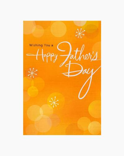 Celebrating You on Father's Day Card