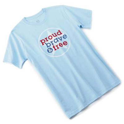 Proud Brave and Free Men's T-Shirt