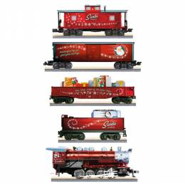 Hallmark Christmas Toymaker Santa Express Complete Ready-to-Run Electric LIONEL Train Set