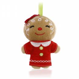 Hallmark Hallmark Keepsake Kids Ginger Girl Plush Ornament