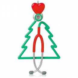 Hallmark A Caring Heart Stethoscope Keepsake Ornament