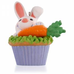 Hallmark Some Bunny to Love Cupcake Keepsake Ornament: 9th in the Series