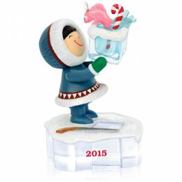 Hallmark Frosty Friends Go Ice Fishing Keepsake Ornament: 36th in the Series