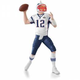 Hallmark NFL New England Patriots Tom Brady Keepsake Ornament