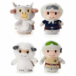 Hallmark itty bittys Star Wars Hoth Collector Set with Luke Skywalker, Han Solo, Tauntaun and Wampa