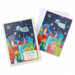 Hallmark Colorful City Peace Christmas Boxed Cards