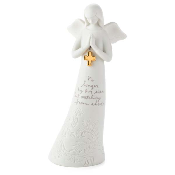 Hallmark No Longer By Our Side Bereavement Angel Figurine
