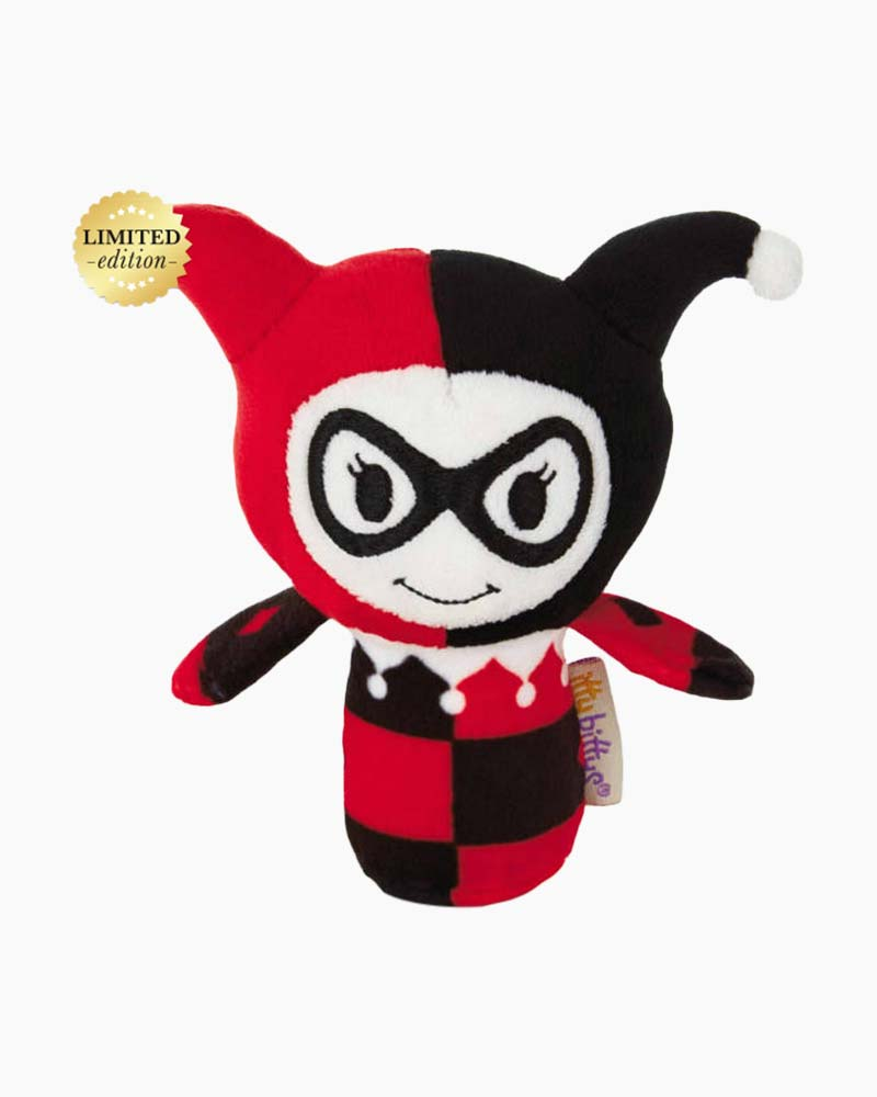 Hallmark LIMITED EDITION itty bittys HARLEY QUINN Stuffed Animal