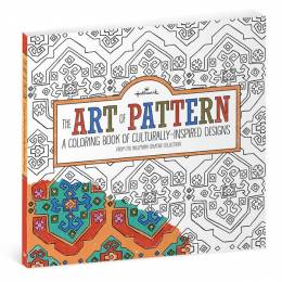 Hallmark The Art of Pattern Culturally-Inspired Designs Coloring Book for Adults