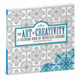 Hallmark The Art of Creativity Intricate Designs Coloring Book for Adults