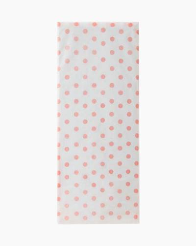 Shell Pink Polka Dot Tissue Paper