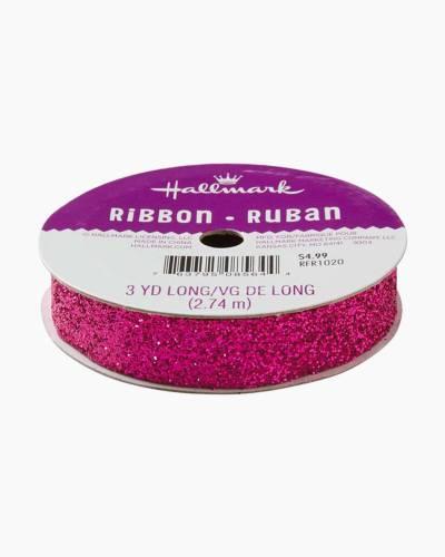 Fuchsia 5/8-inch Sparklet Ribbon