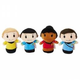 Hallmark itty bittys Star Trek 50th Anniversary Collector Set With Captain Kirk, Spock, Doctor McCoy