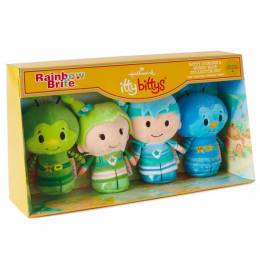 Hallmark itty bittys Rainbow Brite Collector Set With Buddy Sprite, Champ Sprite, Patty Sprite and L