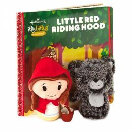 Hallmark itty bittys Little Red Riding Hood Stuffed Animals and Storybook Set