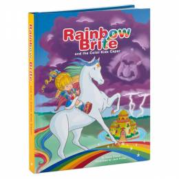 Hallmark Rainbow Brite and the Color Kids Caper Touch-Sensitive Interactive Adventure Storybook