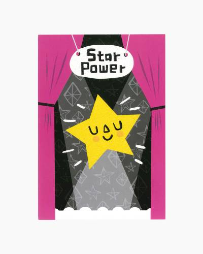 Star Power Congratulations Performance Card