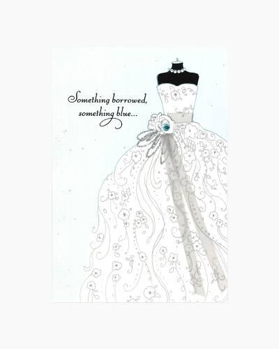 Something Special Wedding Dress Wedding Card
