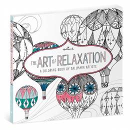 Hallmark The Art of Relaxation-A coloring Book by Artists