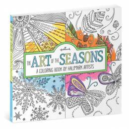 Hallmark The Art of the Seasons-A coloring Book by Artists