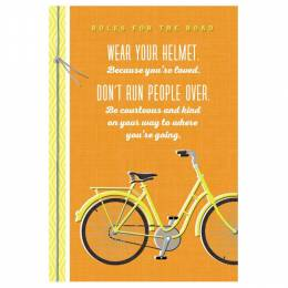 Hallmark Rules for the Road Graduation Card