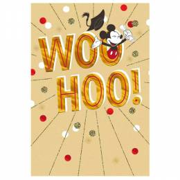 Hallmark Mickey Mouse Celebration Graduation Card