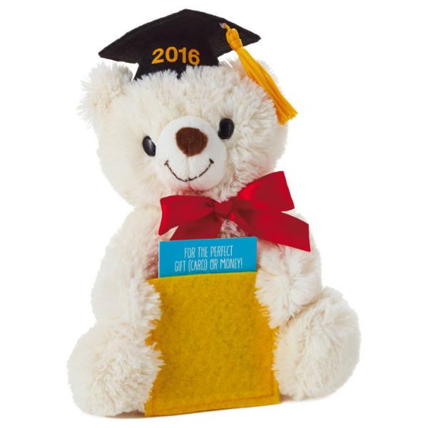 Hallmark Graduation Bear Gift Card And Money Holder Stuffed Animal