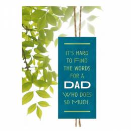 Hallmark Father's Day Card for a Dad Who Does So Much