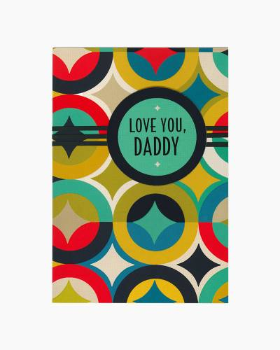 Love You, Daddy Father's Day Card from Daughter