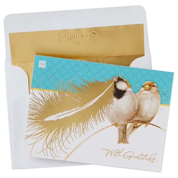 Hallmark Thank You Notes by Marjolein Bastin