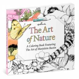 Hallmark The Art of Nature— A Coloring Book Featuring the Art of Marjolein Bastin