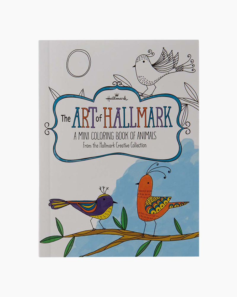Hallmark The Art of Hallmark, A Mini Coloring Book of Animals