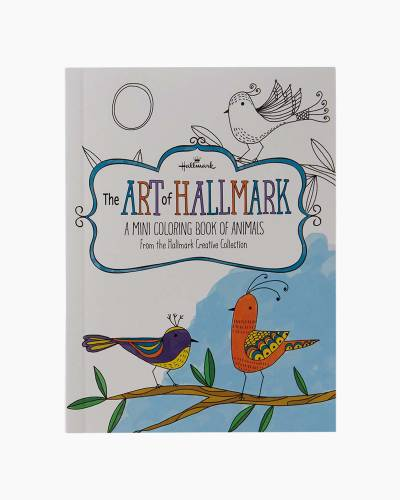 The Art of Hallmark, A Mini Coloring Book of Animals